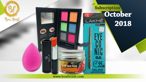 Best Makeup Subscription Box in India, Beauty Subscription Box Online in India