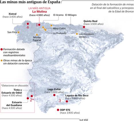 La metalurgia se inició en Asturias hace 5.000 años y alcanzó el mismo grado de desarrollo que en el sur de la Península | Arqueología, Historia Antigua y Medieval - Archeology, Ancient and Medieval History byTerrae Antiqvae (Blogs) | Scoop.it