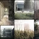 Peter + Alison Smithson / Upper Lawn Pavilion 3D Recreation by Lasse Rode   Infographie 3D   Scoop.it