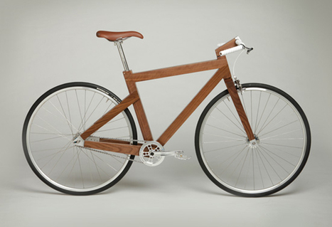 Le studio Lagomorph Design fabrique une multitude de meubles en bois, et même un vélo en noyer (via journaldudesign) | corinne chatelain | Scoop.it