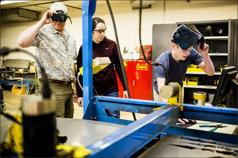 Manufacturing-Job Growth Prompts K-12 Training Effort   Adult Education in Transition   Scoop.it