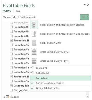 Sort the Power Pivot measures (and fields) in the PivotTable Fields | FrankensTeam's Excel Collection | Scoop.it