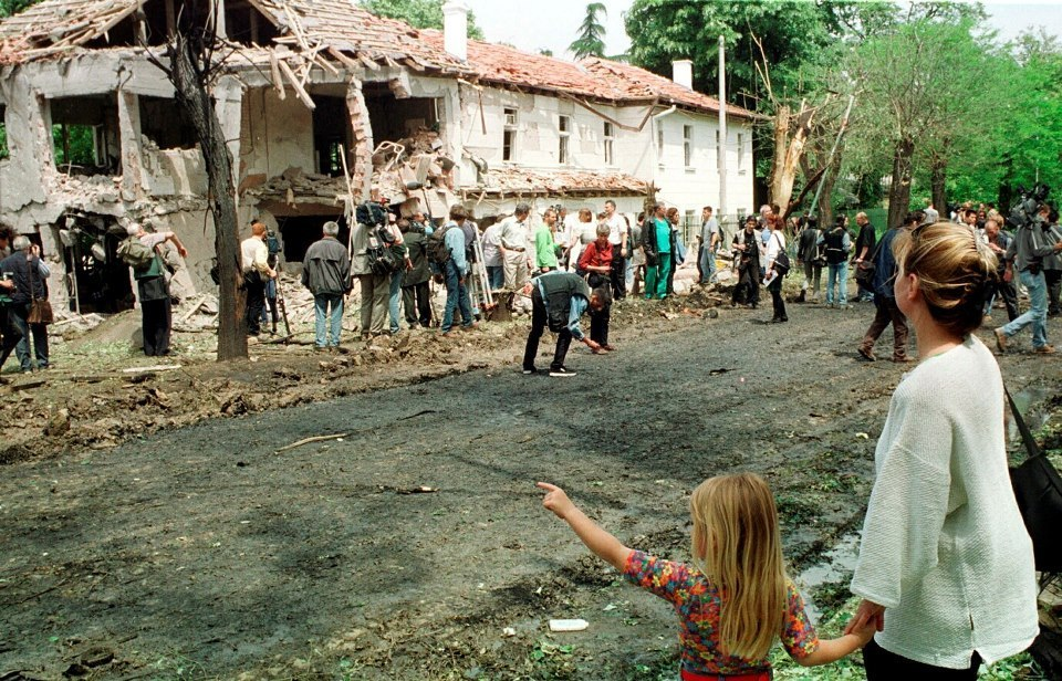 bombing the host country nato's Nato deliberately bombed the chinese embassy in belgrade during the war in kosovo after discovering it was being used to transmit yugoslav army communications.