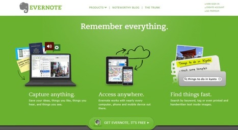 10 Creative Ways to Use Evernote For Easy Content Planning   Business Productivity & Automation Tips   Scoop.it