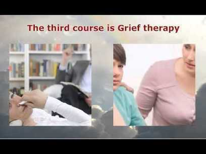 If you are interested in grief counseling, then please review this video about our program in grief counseling