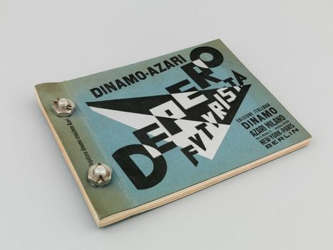 Depero Futurista - The Bolted Book - a New Facsimile - | What's new in Visual Communication? | Scoop.it