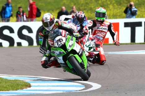 PICS: Guigliano slips off at Donington Park | Ductalk Ducati News | Scoop.it