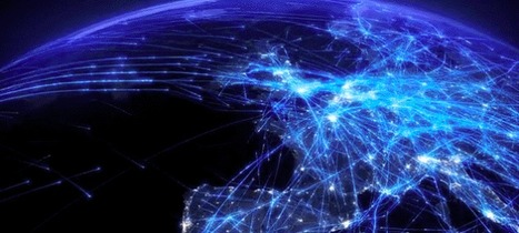 This Gorgeous Visualization Is What 24 Hours Of Air Traffic Looks Like | Meirc Training and Consulting | Scoop.it