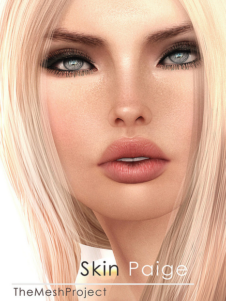 Paige TheMeshProject Installer | Make Up Fantasy | Scoop.it