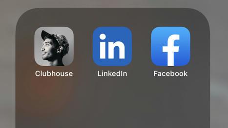 Il n'y a pas vraiment eu de « fuite » de LinkedIn et Clubhouse ...