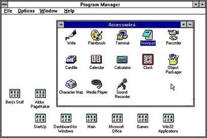 Windows 3.1 fyller tjugo år - följ med på nostalgitripp! - IDG.se | Folkbildning på nätet | Scoop.it