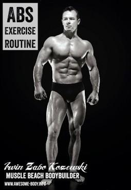 Twisting Sit Ups On Decline Bench | Abs Routine Irvin Koszewski |  Bodybuilding Tips   Health