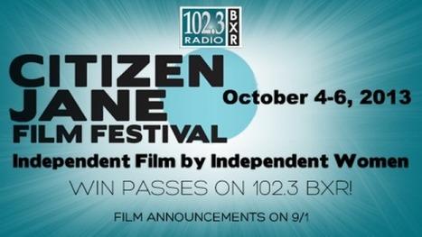 Citizen Jane Film Festival Opens October 4th | MOMMA | OffStage | Scoop.it