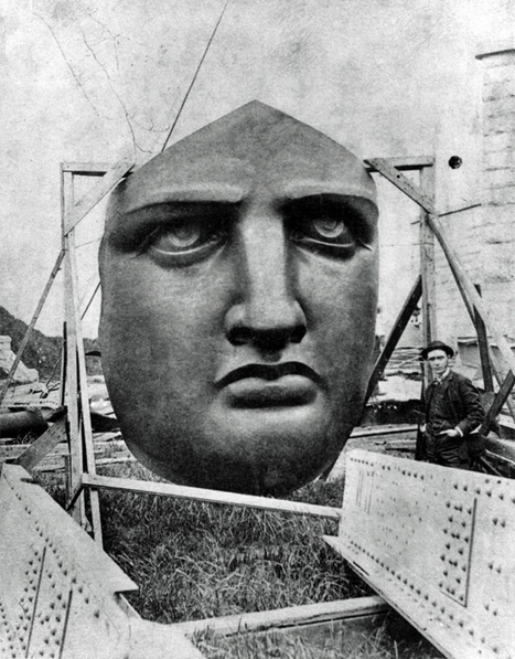 Unboxing the Statue of Liberty, 1885 | GenealoNet | Scoop.it