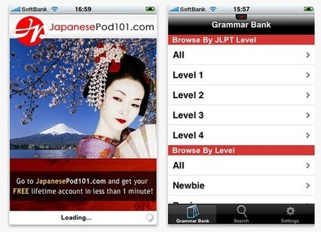 Top 5 applications to learn Japanese on your iPhone | Japanese LinguaLift blog | How to Use an iPhone Well | Scoop.it