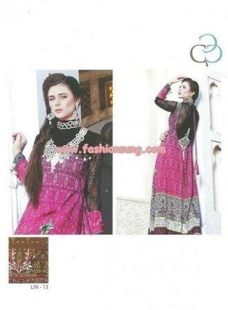 Bashir Ahmed Linen Dresses 2013 By Five Star Textile | Fashion Blog | Scoop.it
