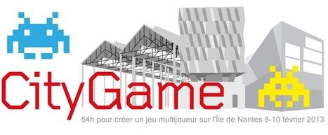 CityGame 54H pour créer un jeu multijoueur sur l'ile de Nantes | arts & technologies | Scoop.it