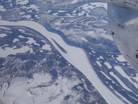 Window seat view of the Mackenzie River | NWT News | Scoop.it