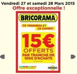 Bricorama\' in SUPER BONS PLANS | Scoop.it