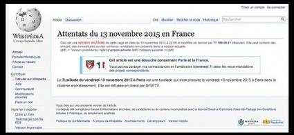Comment Wikipédia a écrit l'histoire des attentats du 13 novembre | Information documentaire | Scoop.it
