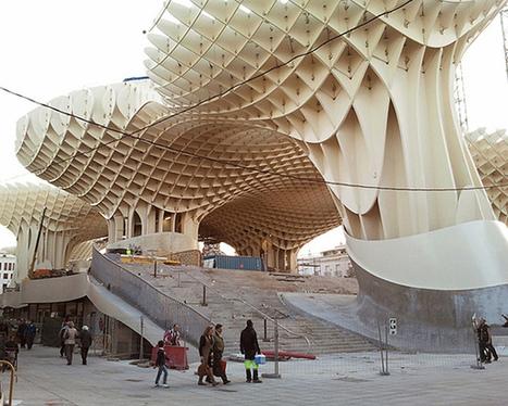 世界上最大的木造建築物在西班牙,而且正式啟用囉! | 建築 | Scoop.it