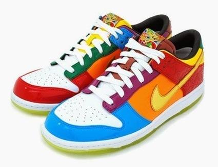 new product 66d6e 60626 Nike Rainbow  Colorful Nike Sb Dunk Low Fukuoka Shoes Sale For Cheap   Comic  Nike
