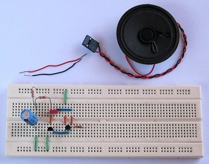 Tutorial 6: Rising Pitch Siren Electronic Beginner Circuit | DIY Music & electronics | Scoop.it