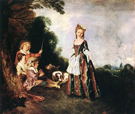 Life and Paintings of Jean-Antoine Watteau (1684 - 1721) | About Art & Creativity | Scoop.it