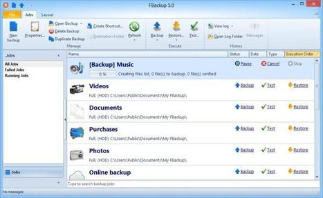 FBackup: software gratis para realizar copias de seguridad | En la red | Scoop.it