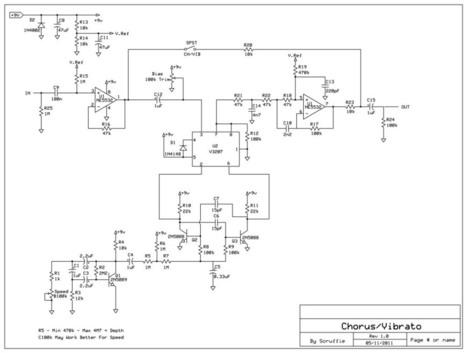 Cheap easy DIY chorus / vibrato | DIY Music & electronics | Scoop.it