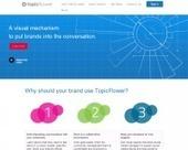 TopicFlower. Developper et visualiser l'influence de sa marque. | Les outils du Web 2.0 | Scoop.it