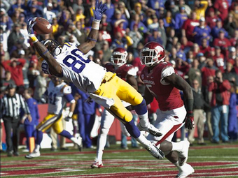 LSU Jarvis Landry makes college football catch of the year | The Best of The Bahamas | Scoop.it