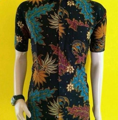 31 Model Baju Batik Guru Modern Wanita P