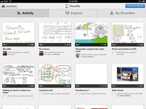 ShowMe 3.0 - new version | Digital Presentations in Education | Scoop.it