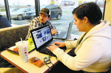 The Web-Deprived Study at McDonald's | Library world, new trends, technologies | Scoop.it