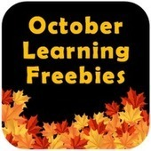 October Learning Freebies Link Up | Seasonal Freebies for Teachers | Scoop.it