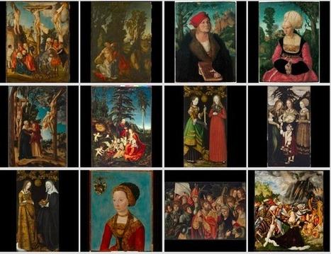 Cranach Digital Archive : plus de 400 oeuvres en ligne | Médiathèque numérique | Scoop.it