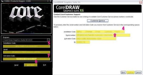 Corel draw x6 serial number free download