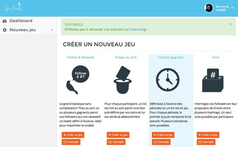 Outil : organisez un jeu concours sur Twitter avec Like A Bird Apps | Time to Learn | Scoop.it