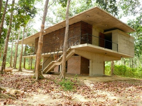 Nishorgo Oirabot Nature Interpretation Centre | sustainable architecture | Scoop.it