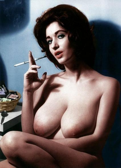 busty babes smoking weed nude