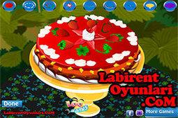 Cilekli Yas Pasta Oyunlar Oyun Oy