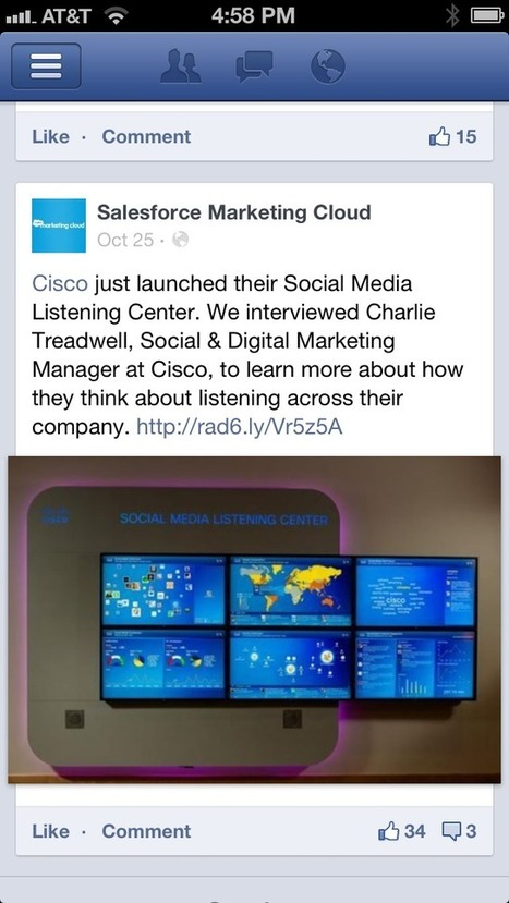 What the New Facebook Mobile Share Button Could Mean for Social Media Marketers – Salesforce Marketing Cloud | Social Marketing Strategist | Scoop.it