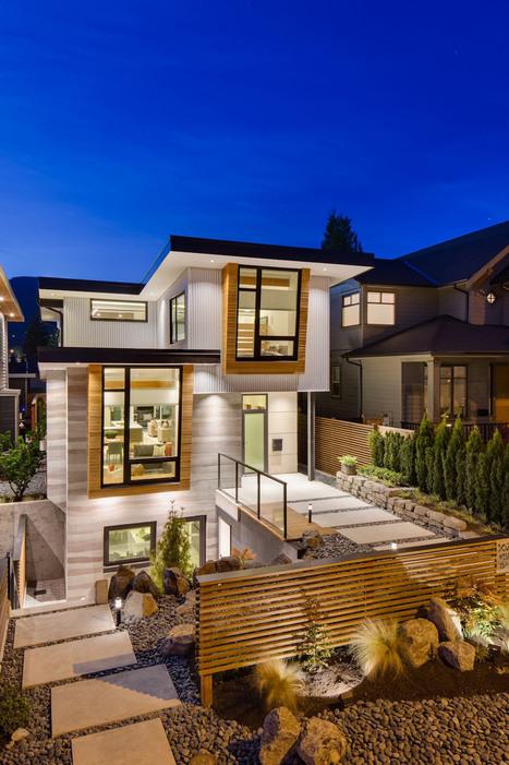 Charmant 3 Certifications écologiques Pour Cette Magnifique Maison Contemporaine  Canadienne