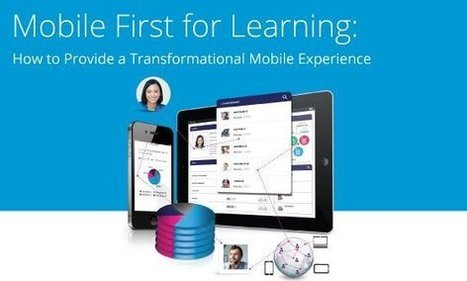 """""""Mobile First"""" Learning: The Way Forward   Mobile Learning News and Views   Scoop.it"""