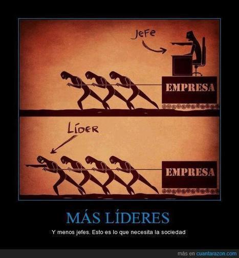 Diferencia entre jefe y líder #infografia | EmployerMarketing | Scoop.it