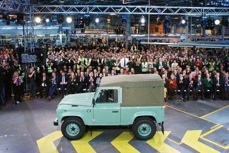 Nový Defender sa bude vyrábať na Slovensku, špekuluje britský web   Doprava a technológie   Scoop.it