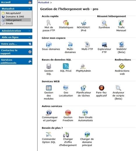 Activer IPv6 au niveau des hébergements mutualisés OVH   Informatique   Scoop.it