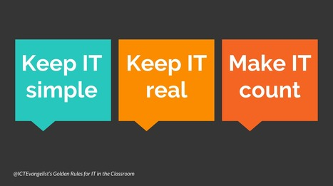 The secret to successful use of technology in the classroom | The World We Live In | Scoop.it