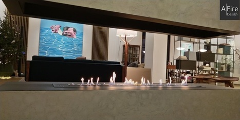 3D Flammen Wasserdampf Kamin |100 % Kaminsicher...